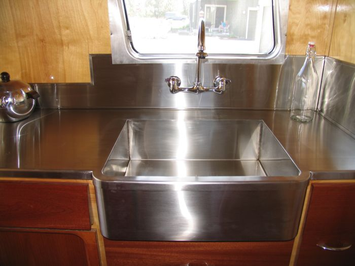 Rv Stainless Kitchen Countertops