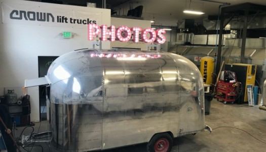 1962 Airstream Bambi Photo Trailer